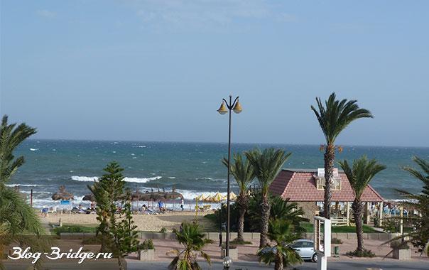 тунис-море