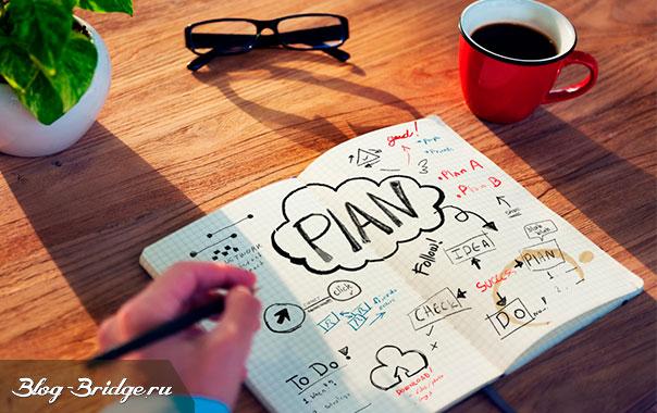 как составить контент план