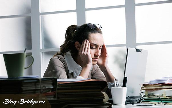 головная боль от компьютера